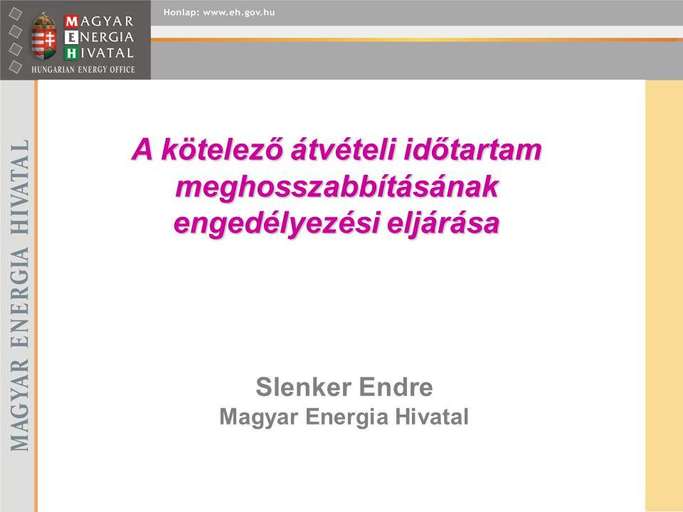 Slenker Endre Magyar Energia Hivatal