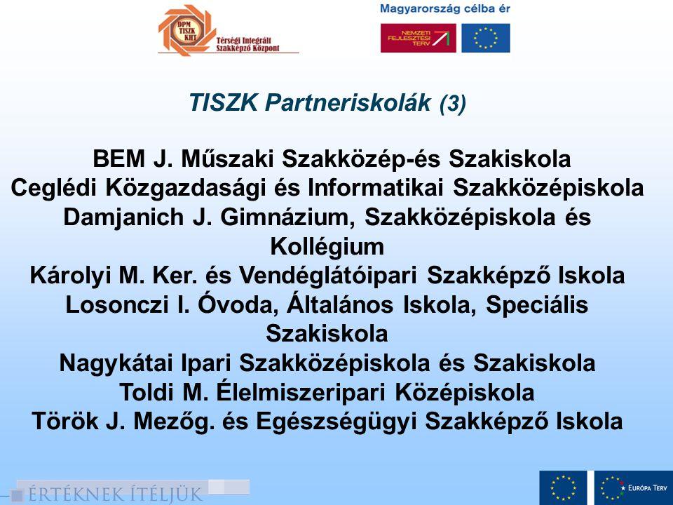 TISZK Partneriskolák (3)
