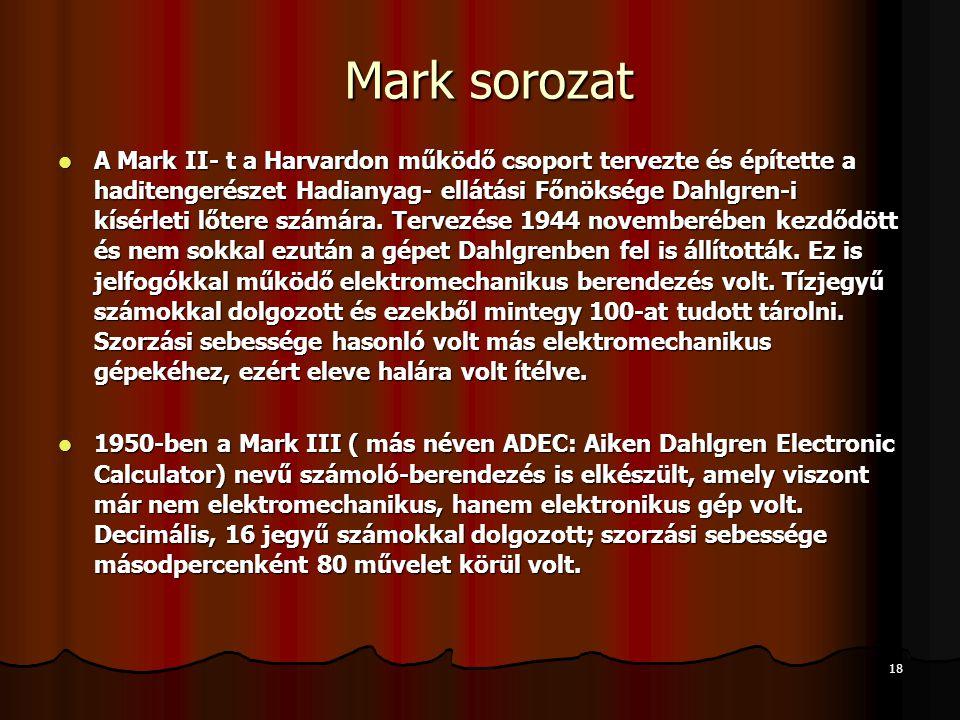 Mark sorozat