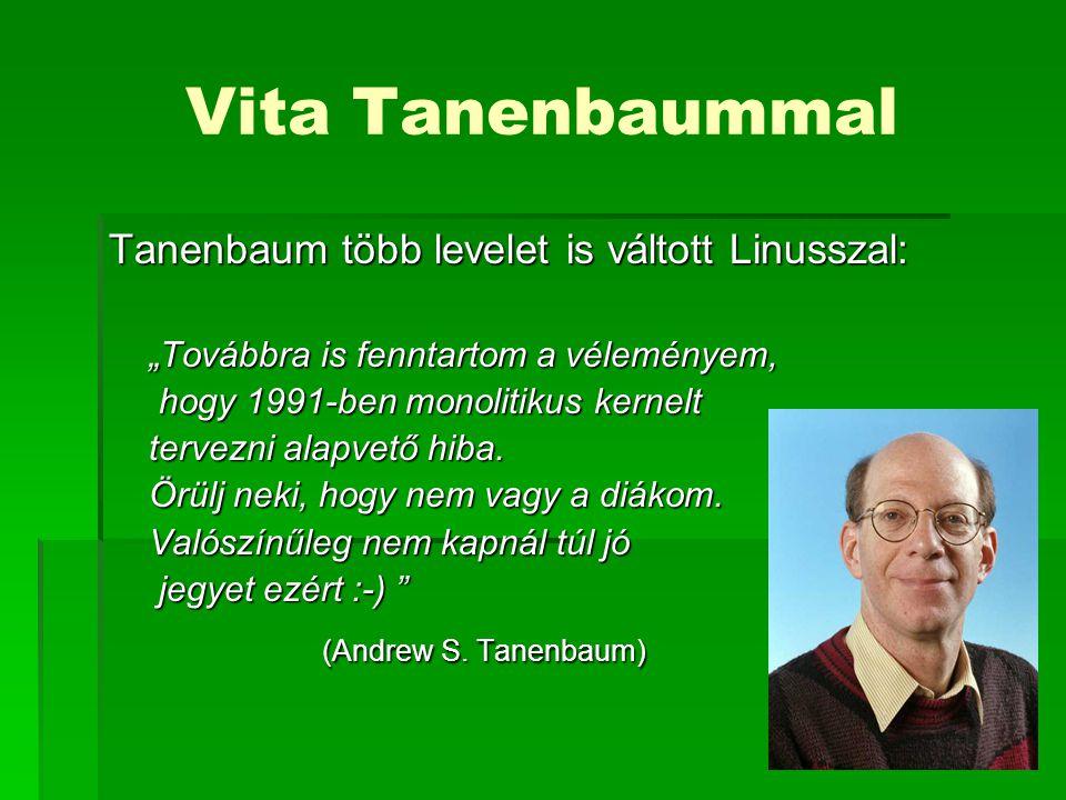 Vita Tanenbaummal (Andrew S. Tanenbaum)