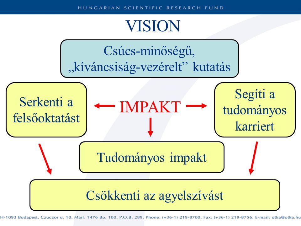 """VISION IMPAKT Csúcs-minőségű, """"kíváncsiság-vezérelt kutatás"""