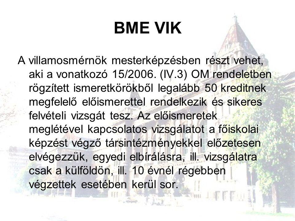 BME VIK