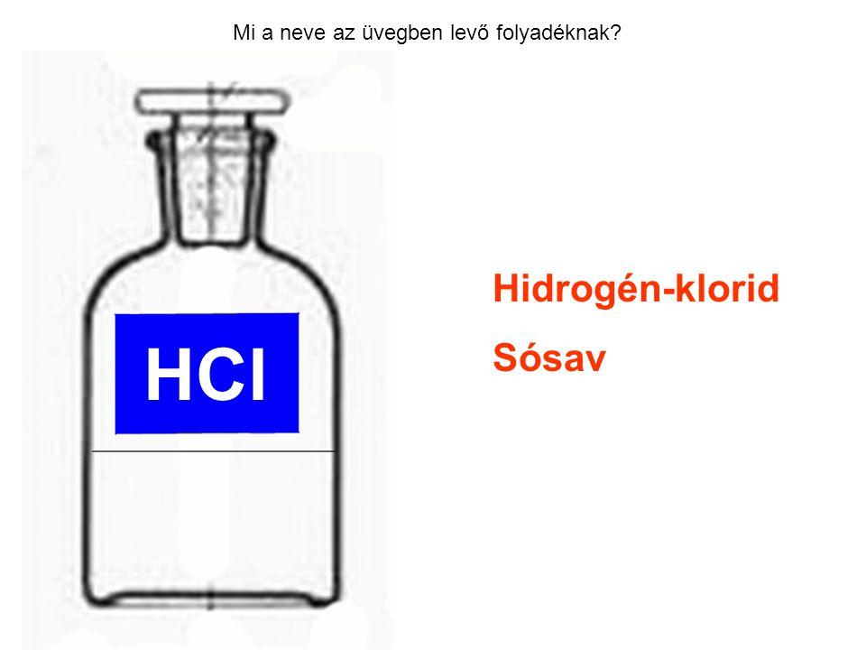 Mi a neve az üvegben levő folyadéknak