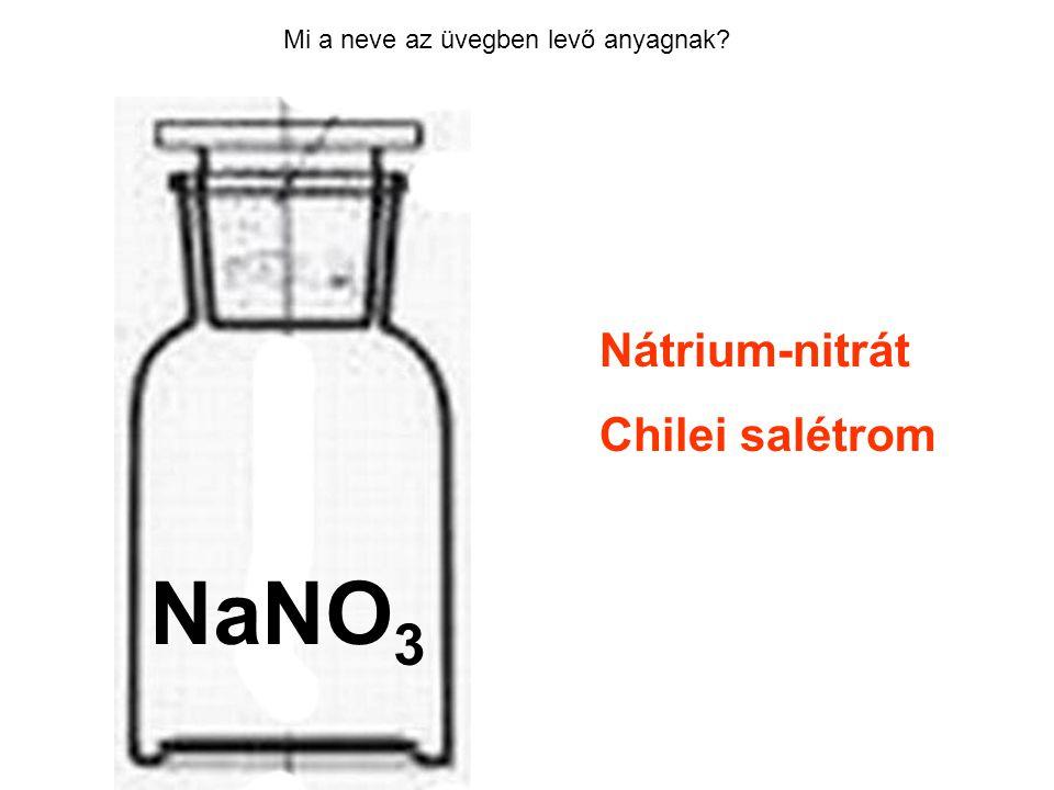 HCl NaNO3 Nátrium-nitrát Chilei salétrom