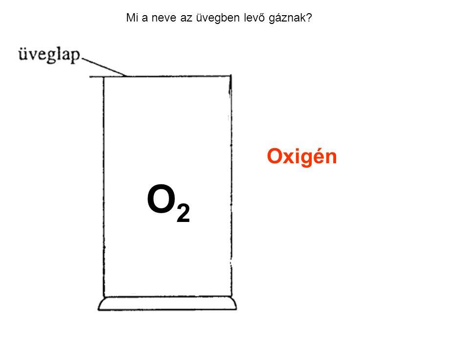 Mi a neve az üvegben levő gáznak