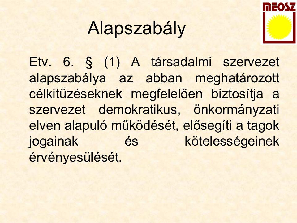 Alapszabály