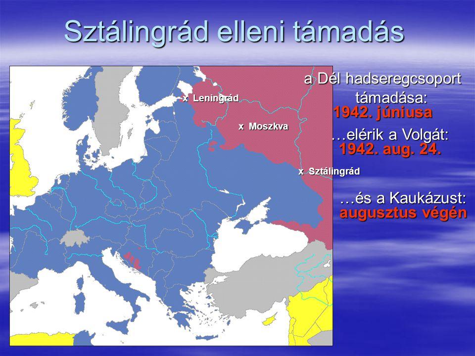 Sztálingrád elleni támadás