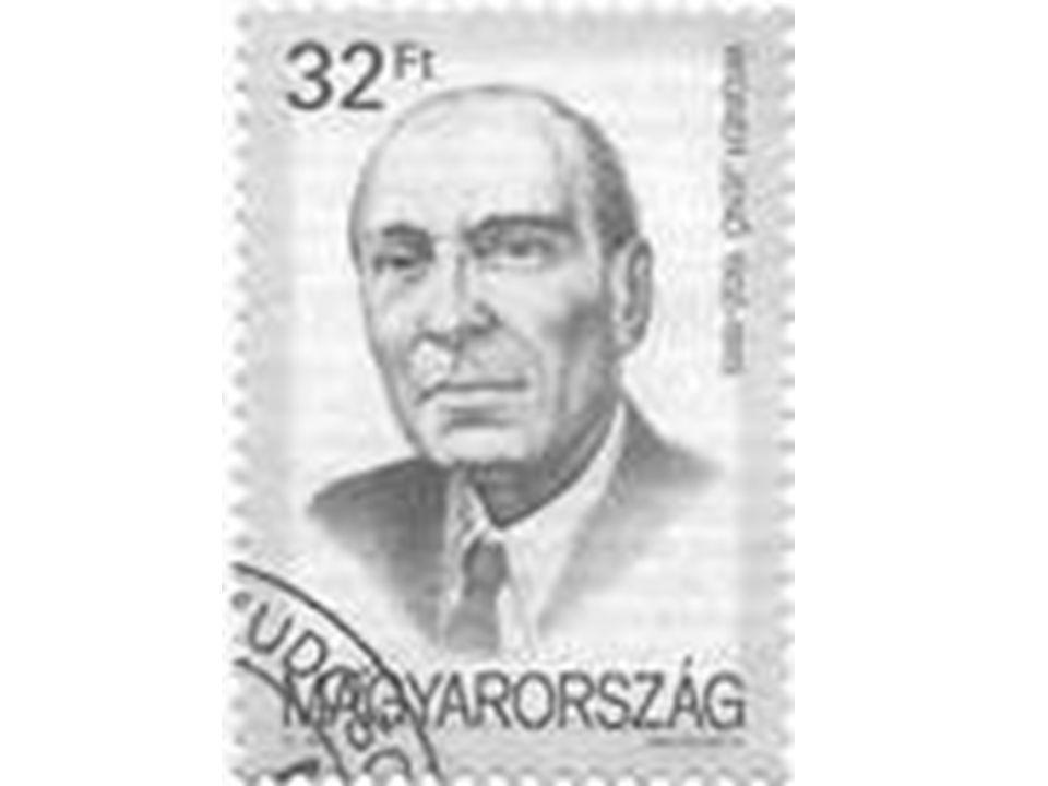 A Magyar Posta bélyege Wigner Jenővel