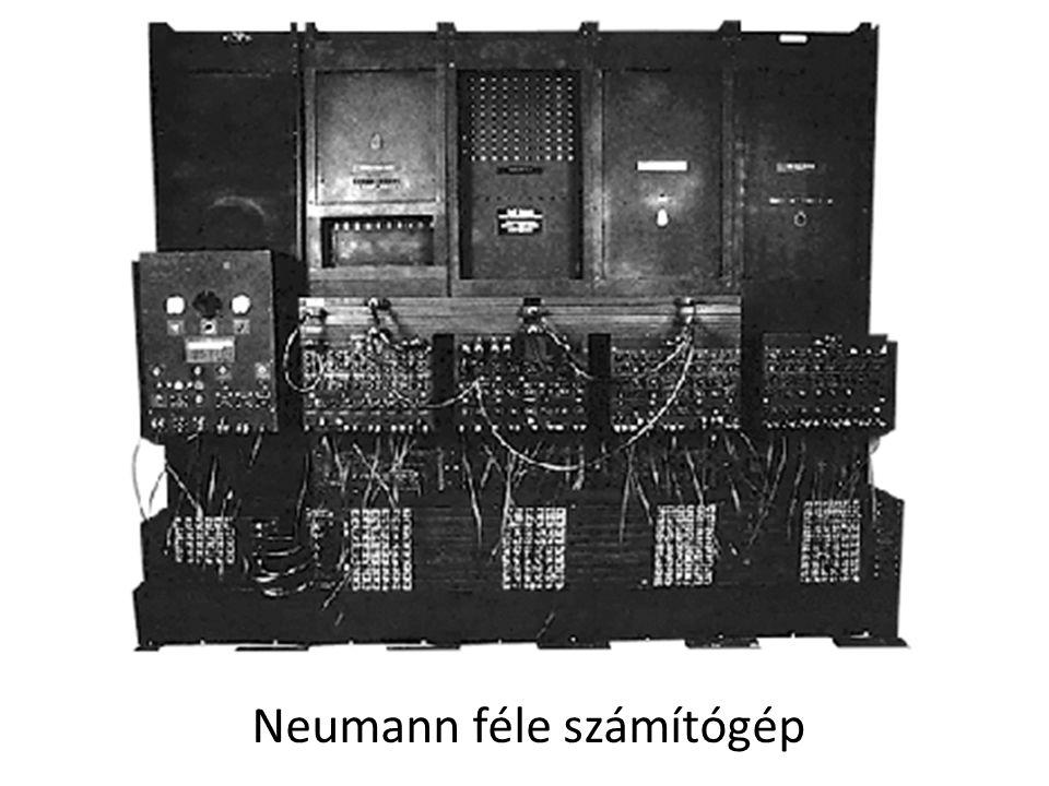 Neumann féle számítógép
