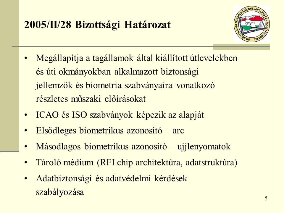 2005/II/28 Bizottsági Határozat