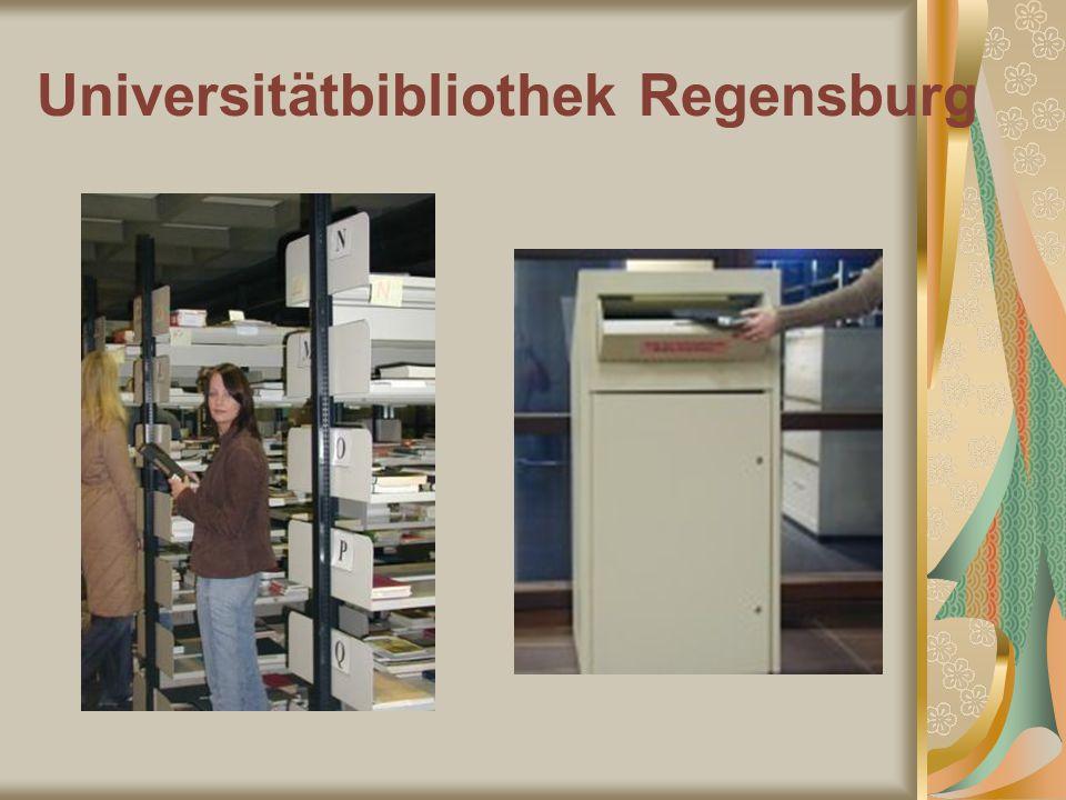Universitätbibliothek Regensburg