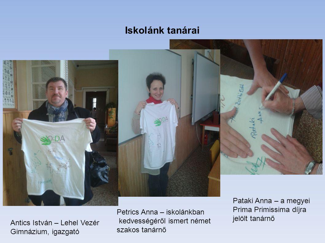 Iskolánk tanárai Pataki Anna – a megyei Prima Primissima díjra