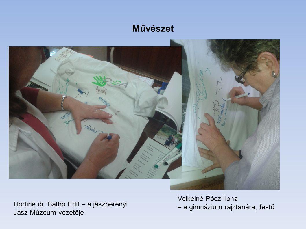 Művészet Velkeiné Pócz Ilona – a gimnázium rajztanára, festő