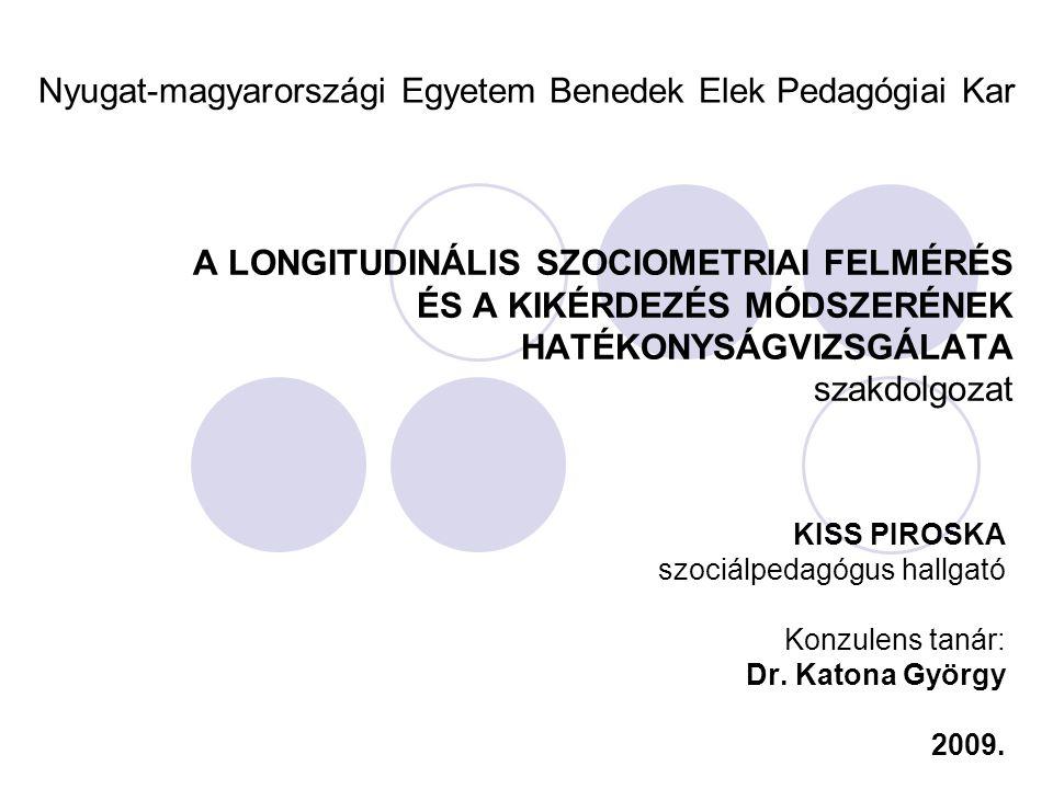 Nyugat-magyarországi Egyetem Benedek Elek Pedagógiai Kar