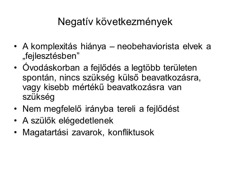 Negatív következmények