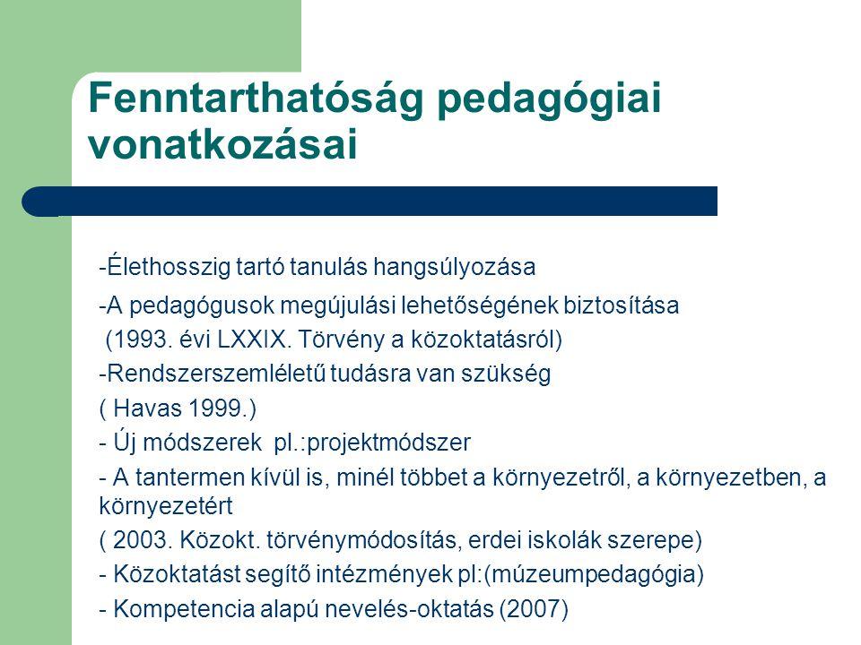 Fenntarthatóság pedagógiai vonatkozásai