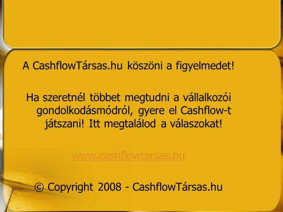 A CashflowTársas.hu köszöni a figyelmedet!