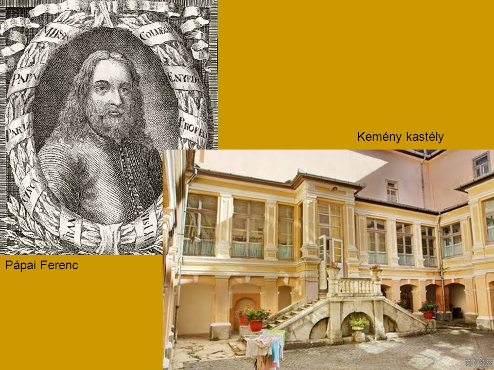 Kemény kastély Pápai Ferenc