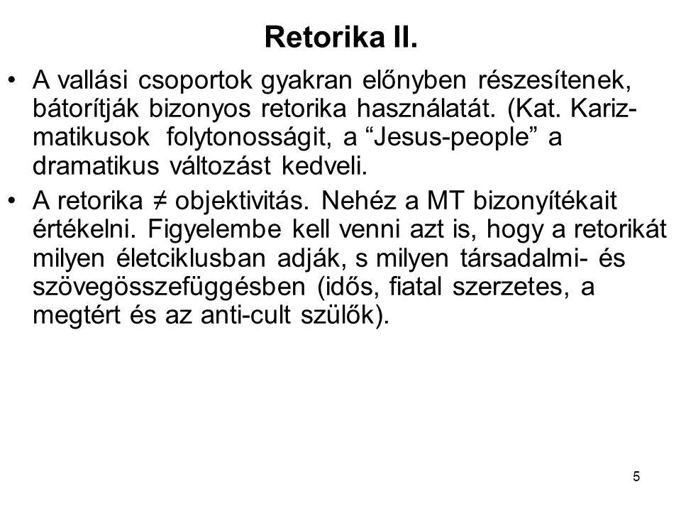 Retorika II.