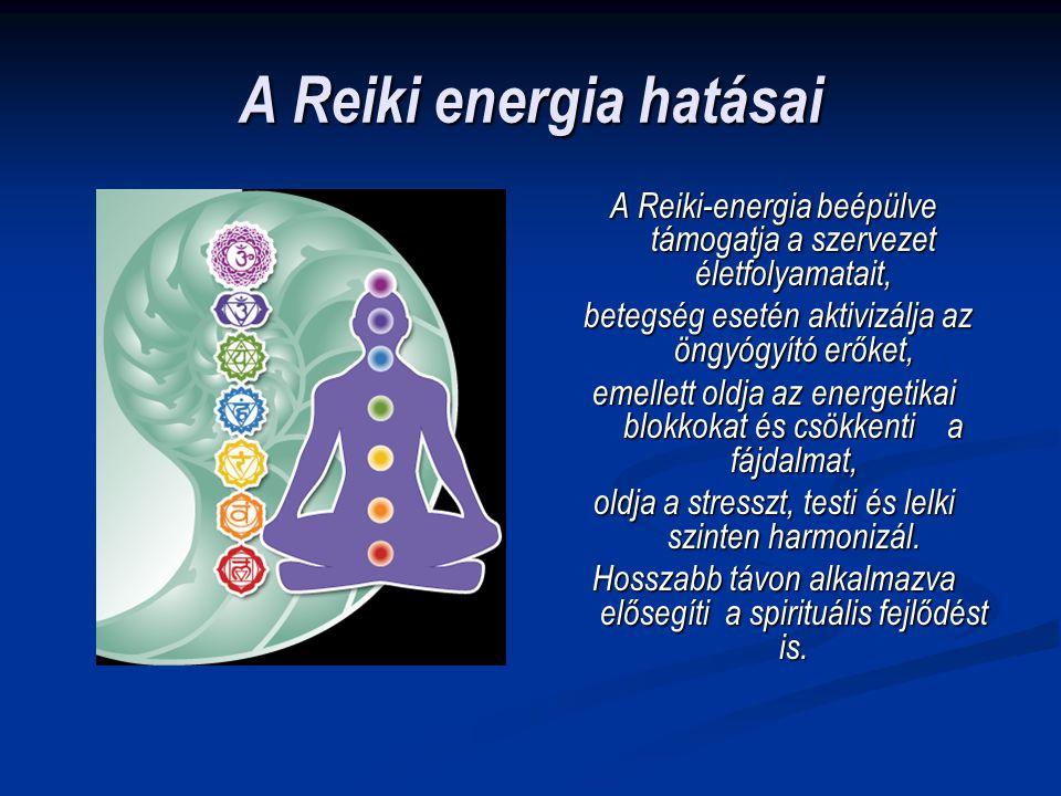 A Reiki energia hatásai