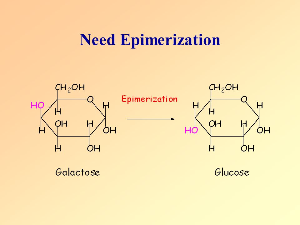 Need Epimerization