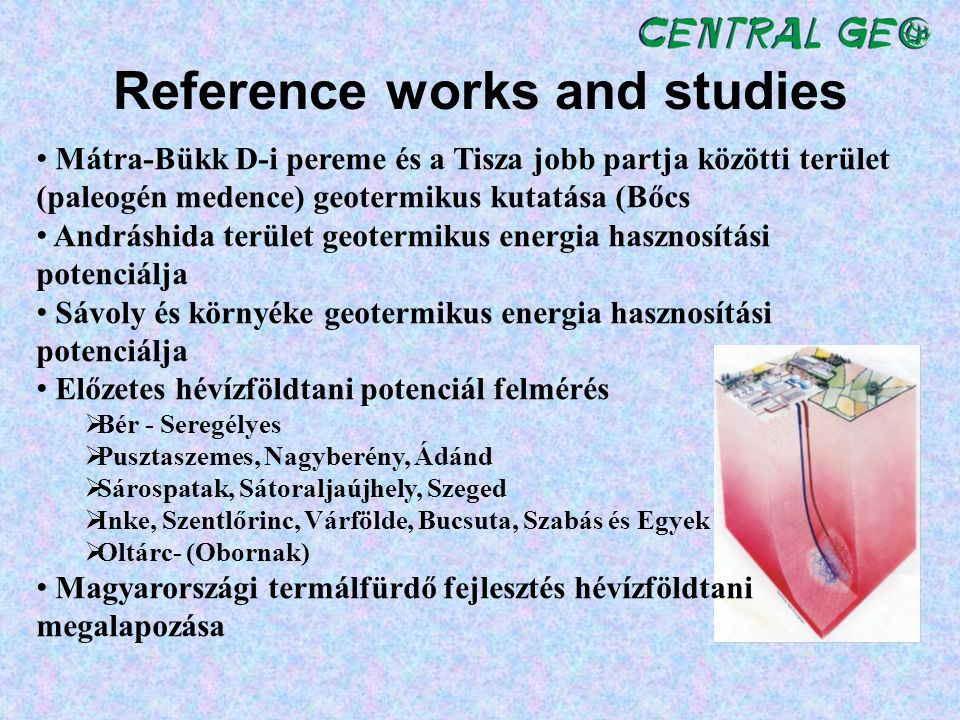 Reference works and studies