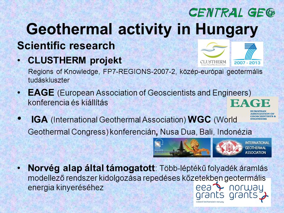 Geothermal activity in Hungary