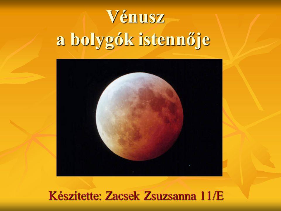 Vénusz a bolygók istennője