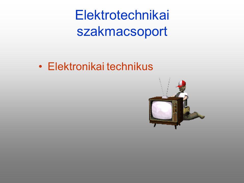Elektrotechnikai szakmacsoport