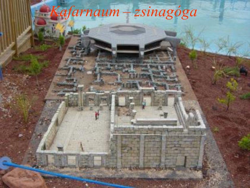 Kafarnaum – zsinagóga