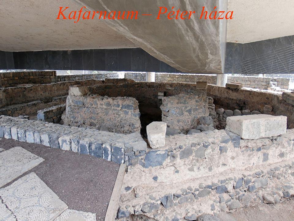 Kafarnaum – Péter háza