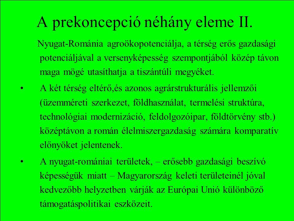 A prekoncepció néhány eleme II.