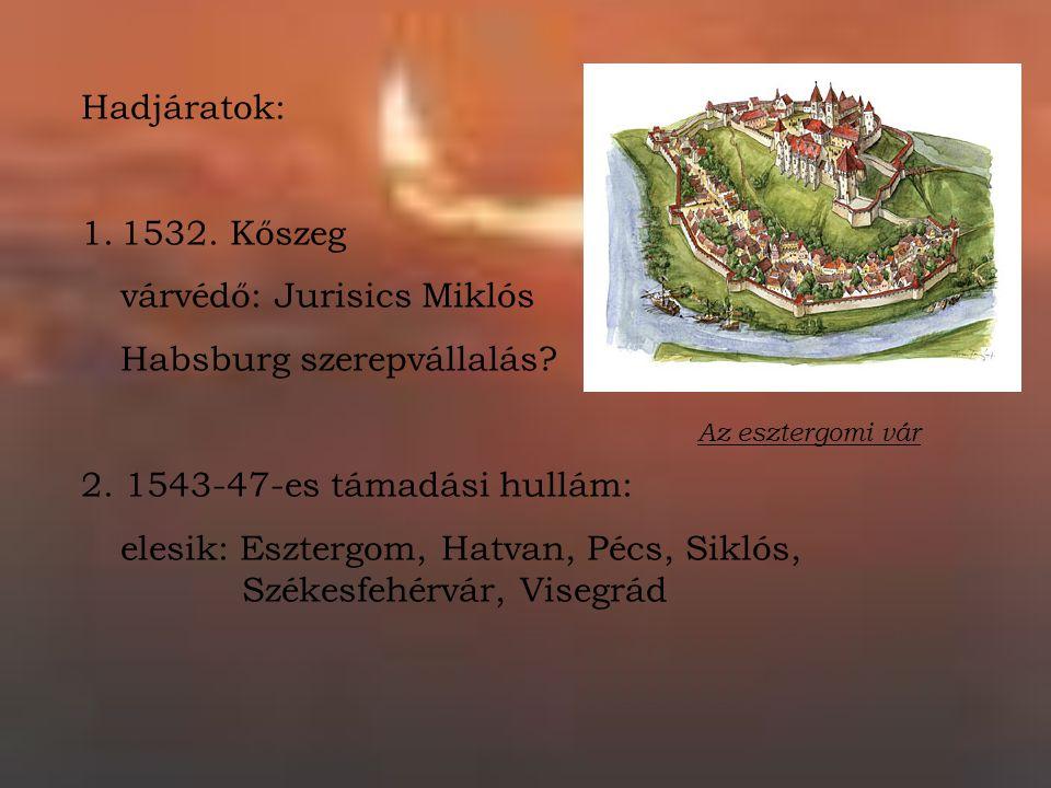várvédő: Jurisics Miklós Habsburg szerepvállalás