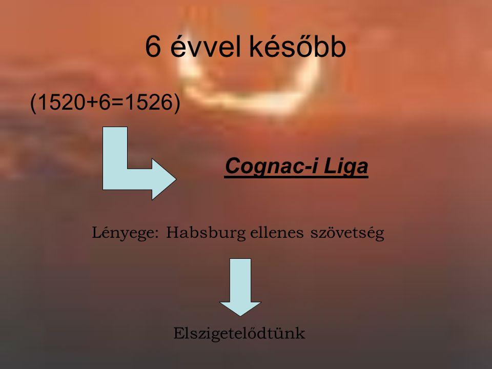 Lényege: Habsburg ellenes szövetség