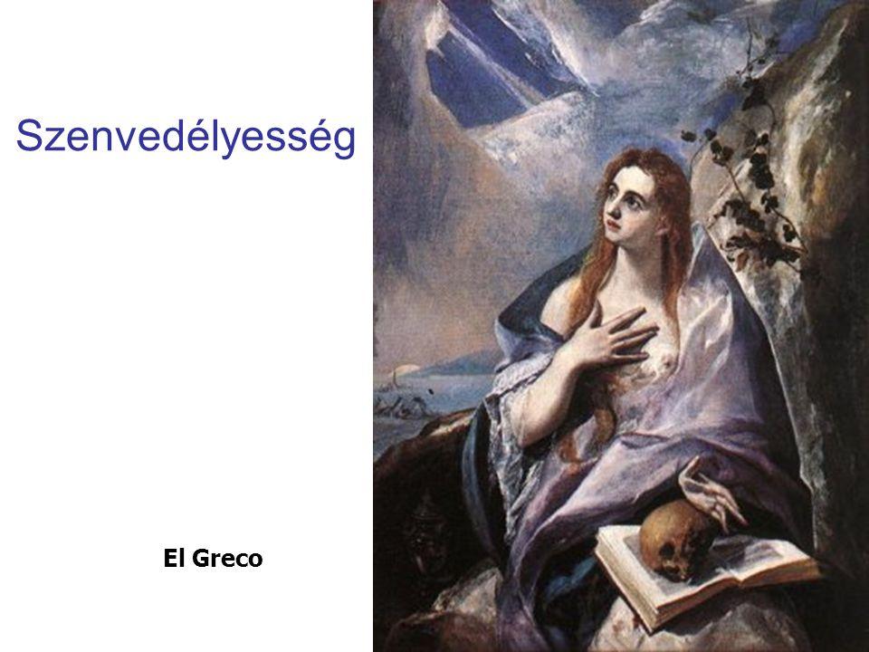 Szenvedélyesség El Greco