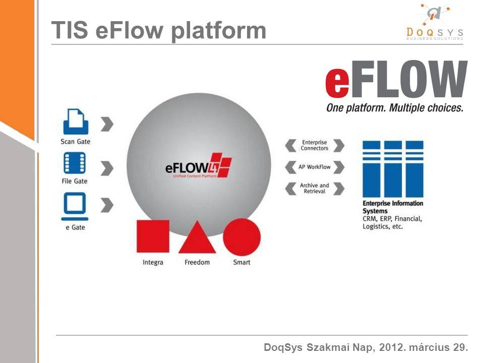 TIS eFlow platform