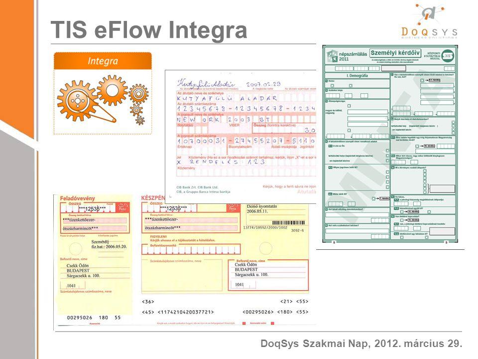 TIS eFlow Integra