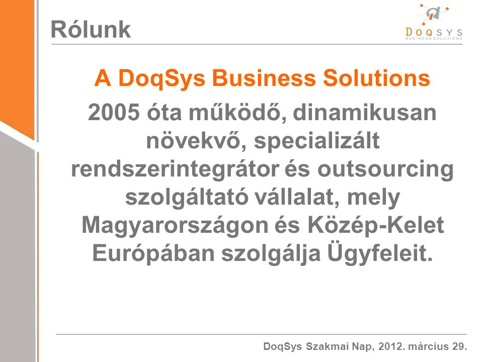 A DoqSys Business Solutions