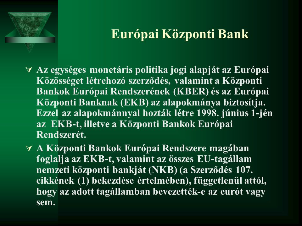 Európai Központi Bank