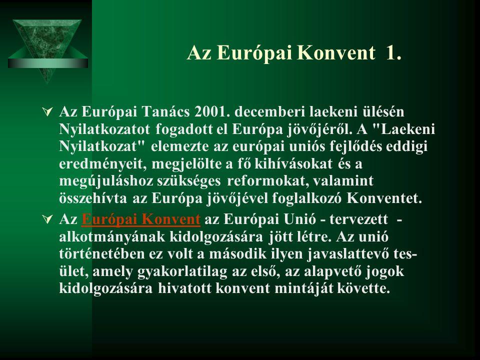 Az Európai Konvent 1.