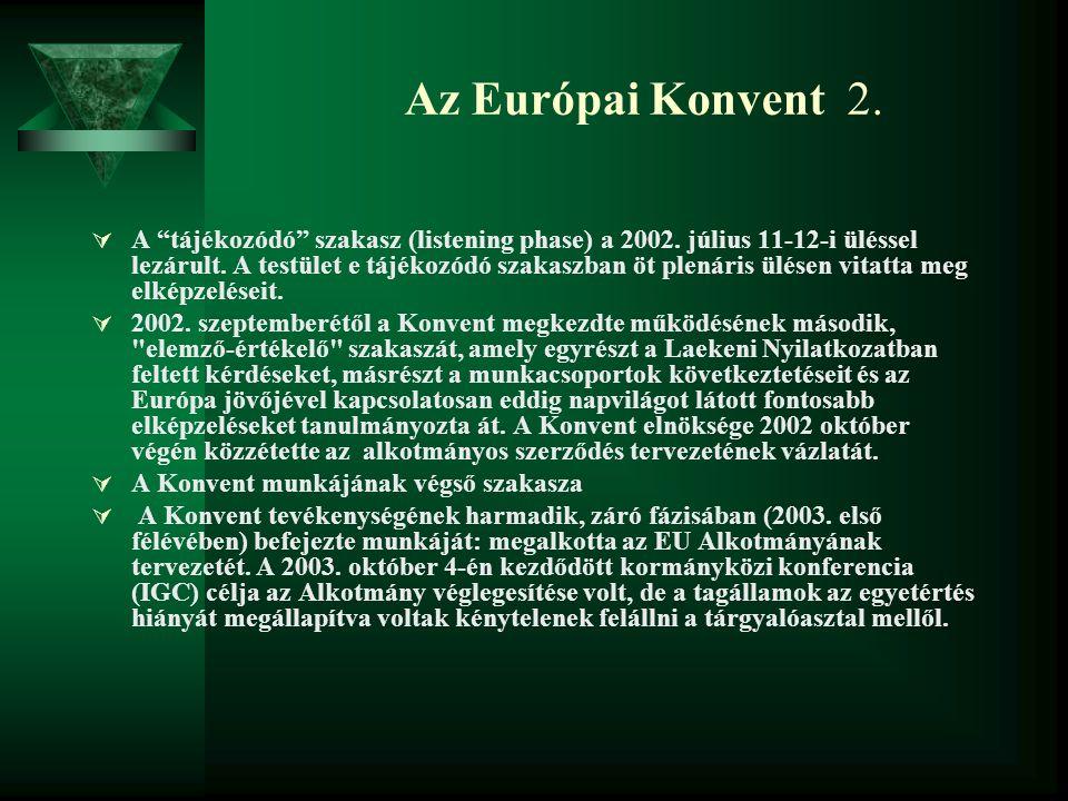Az Európai Konvent 2.