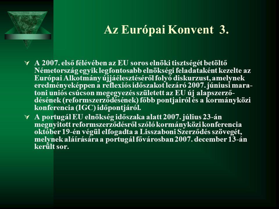 Az Európai Konvent 3.