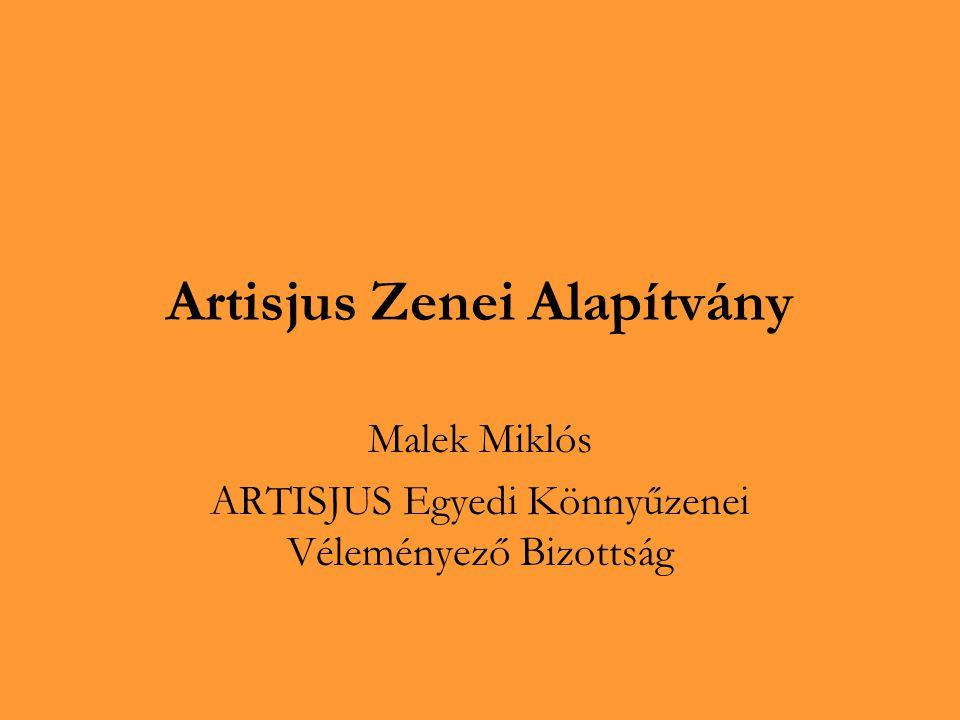 Artisjus Zenei Alapítvány