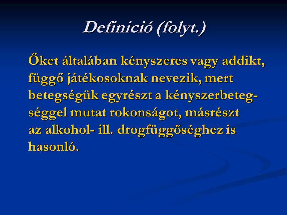 Definició (folyt.)