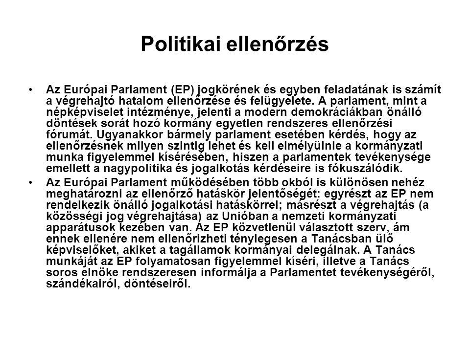 Politikai ellenőrzés