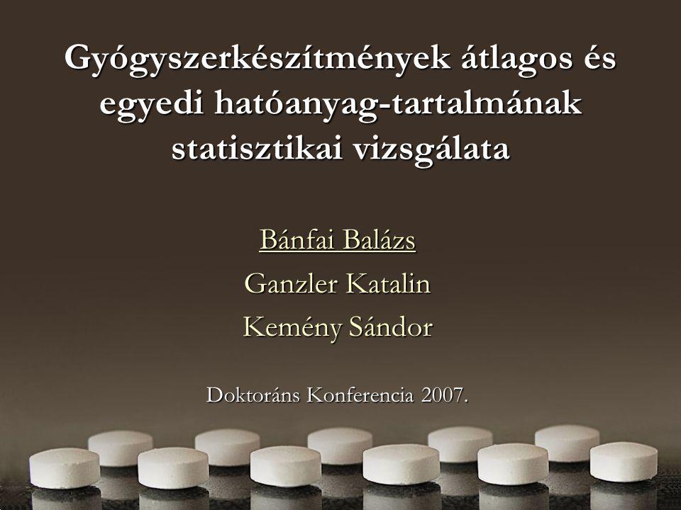 Kemény Sándor Doktoráns Konferencia 2007.