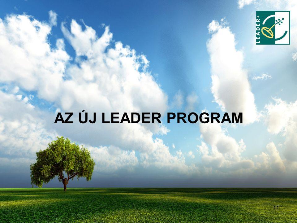 AZ ÚJ LEADER PROGRAM