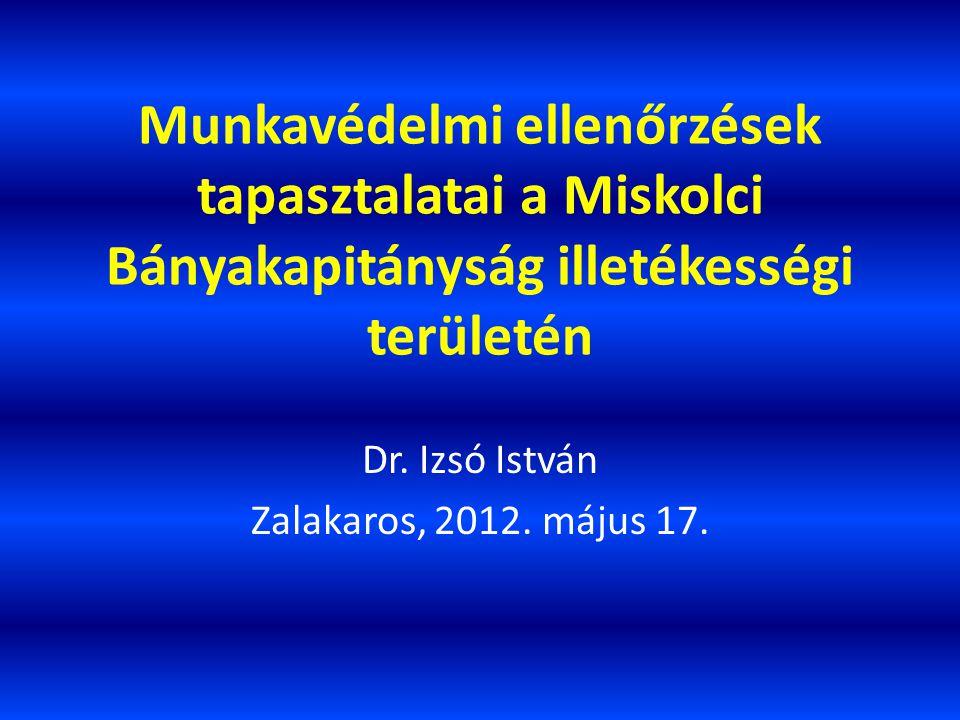Dr. Izsó István Zalakaros, 2012. május 17.