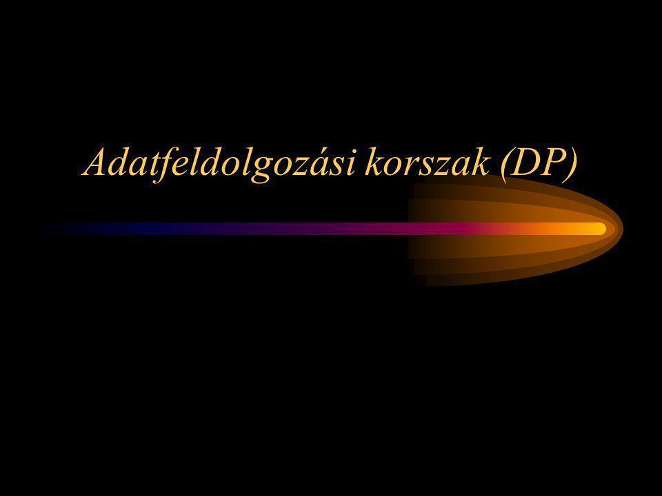 Adatfeldolgozási korszak (DP)