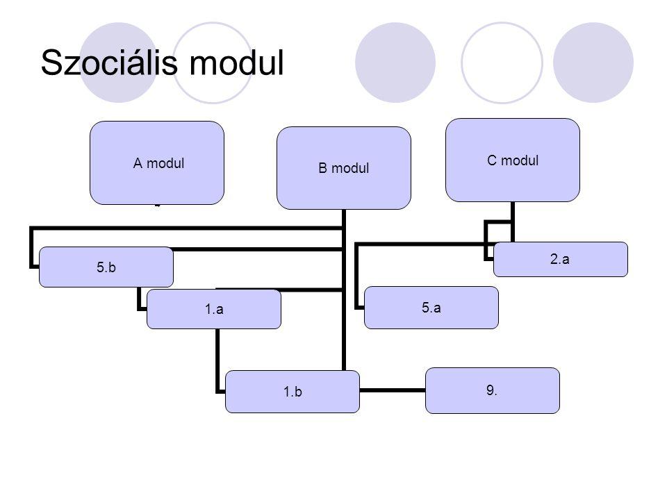 Szociális modul